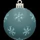 Retro Holly Ornament #12