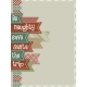 Retro Holly Jolly Journal/Pocket Card #5