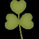 Ladybug Garden- leaf stem #2