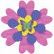 A Bug's World- flower #6