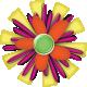 A Bug's World- flower #7