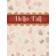 Fall in Love- pocket card 3, 3x4