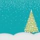Christmas Magic- pocket card 2, 4x4