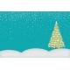 Christmas Magic- journal card 2, 4x6