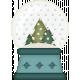 Retro Holly Jolly- snow globe