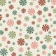 Retro Holly Jolly- pattern paper 2