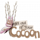 Butterfly Spring - word art 8
