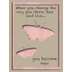 Butterfly Spring- pocket card #1-2, 3x4