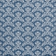 Freedom- Blue Damask Paper