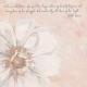 Pretty Botanics Journal Card - White Flower