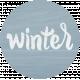 Winter Day Tag - Winter