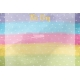 Raindrops and Rainbows Watercolor Fantasy This Day Journal Card 4x6