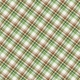 Into the Woods- Green and Brown Plaid Paper
