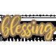 Family Day Blessing Word Art