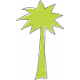 Summer Lovin' July 2017 Blog Train- Palm Tree