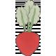 Garden Tales Elements- Beet Doodle