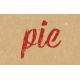 Food Day- Pie Word Art