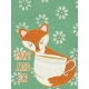 Fall Flurry Paws and Sip Journal Card 3x4