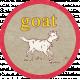 Petting Zoo Goat Tag