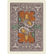 Fall Flurry Acorn Playing Card