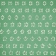 Fall Flurry Green Floral Paper