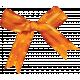 Harvest Pie Orange Bow