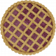 Harvest Pie Lattice Berry Pie