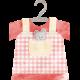 Baby Shower Girl Addon Dress on Hanger
