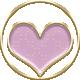 New Day Enamel Heart