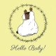 New Day Baby Hello Baby 02 Journal Card 4x4