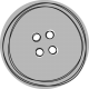 Baby Shower Button Template