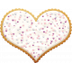Sweets and Treats- Heart Cookie