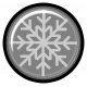 Snow Baby Template- Snowflake Button