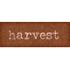 Orchard Traditions Harvest Word Art Snippet