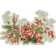 Warm n Woodsy Roses Sticker