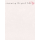 Legacy of Love Good Life Journal Card 3x4