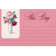 Legacy of Love This Day Journal Card 4x6