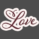 Legacy of Love- Love Word Art