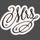 Legacy of Love Mrs. Word Art
