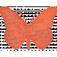 Inner Wild Orange Butterfly