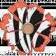 Inner Wild Zebra Flower