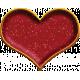 Reminisce Enamel Heart