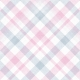 Delightful Days Plaid Paper- Pink & Blue