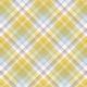 Delightful Days Plaid Paper- Yellow White Gray