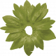 Delightful Days Green Strawberry Leaf Flower