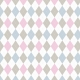 Delightful Days Pink and Blue Argyle Paper