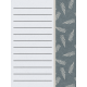 Delightful Days Journal Card- Fern 3x4