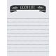 Delightful Days Journal Card- Good Life 3x4