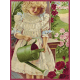 Delightful Days Journal Card- Girl Watering Flowers 3x4