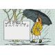 Singin' In The Rain Journal Card- April 4x6